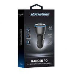 شارژر فندکی راک رُز Rockrose Ranger PQ