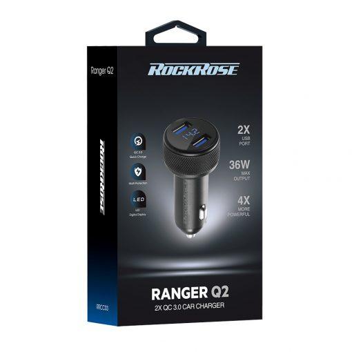شارژر فندکی راک رُز Rockrose Ranger Q2