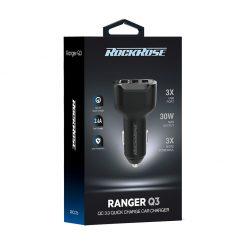 شارژر فندکی راک رز Ranger Q3