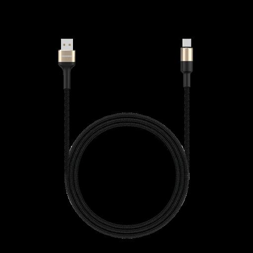 کابل شارژ و دیتا یک متری USB به USB-C راکرُز Acacia AC