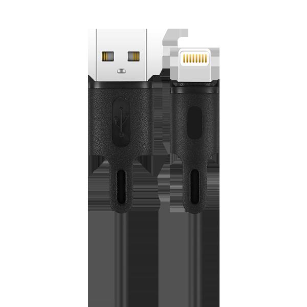 کابل شارژ و دیتا یک متری USB به لایتنینگ راکرُز Beta AL